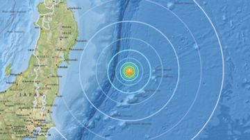 A 6.1 quake has struck off the coast of Japan.