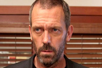 <B>Later starred in...</B> <I>House</I>. Hugh put on an American accent to play the lead role — the cranky but brilliant Dr Gregory House — that many <I>House</I> fans who've never seen Hugh's previous work have assumed he really is American. (More proof of his diversity: he's also a talented blues musician. True story!)