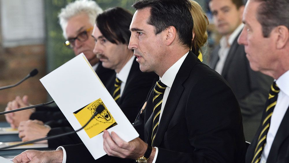 Challenge to Richmond's AFL boardroom