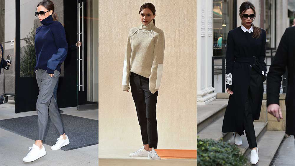 Victoria Beckham and the new work uniform