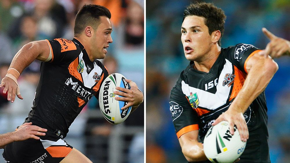 Lukes Brooks and Mitchell Moses. (AAP and Getty)
