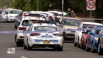 Police have established a crime scene in Fairfield, in Sydney's west.
