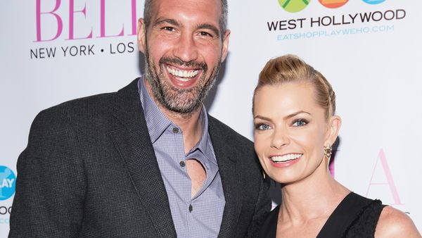 Double scoop: actress Jaime Pressly is expecting twins with her longtime boyfriend. Image: Getty