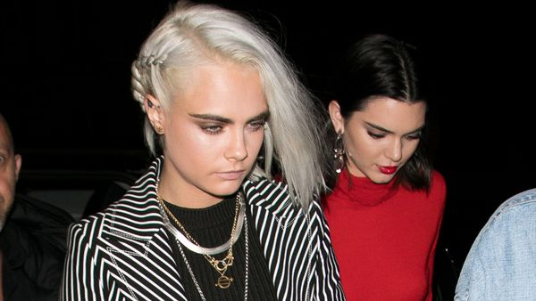 Cara Delevingne debuts a hot new look and we love it. Image: Getty.