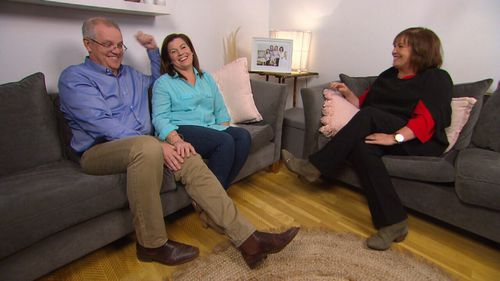 Mr Morrison and his wife Jenny spoke to A Current Affair host Tracy Grimshaw.