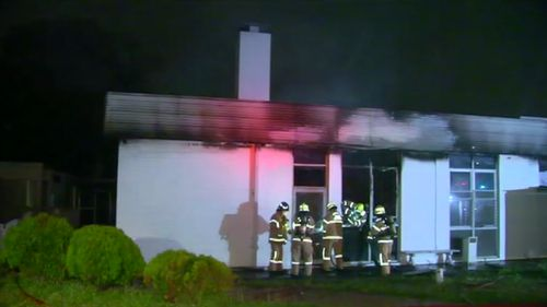 Police expect to lay charges over two separate arson attacks. (9NEWS)