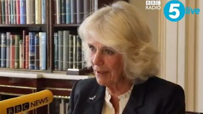 Camilla, Duchess of Cornwall appears as a special guest on The Emma Barnett Show
