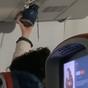 Passenger slammed for 'revolting' shoe act