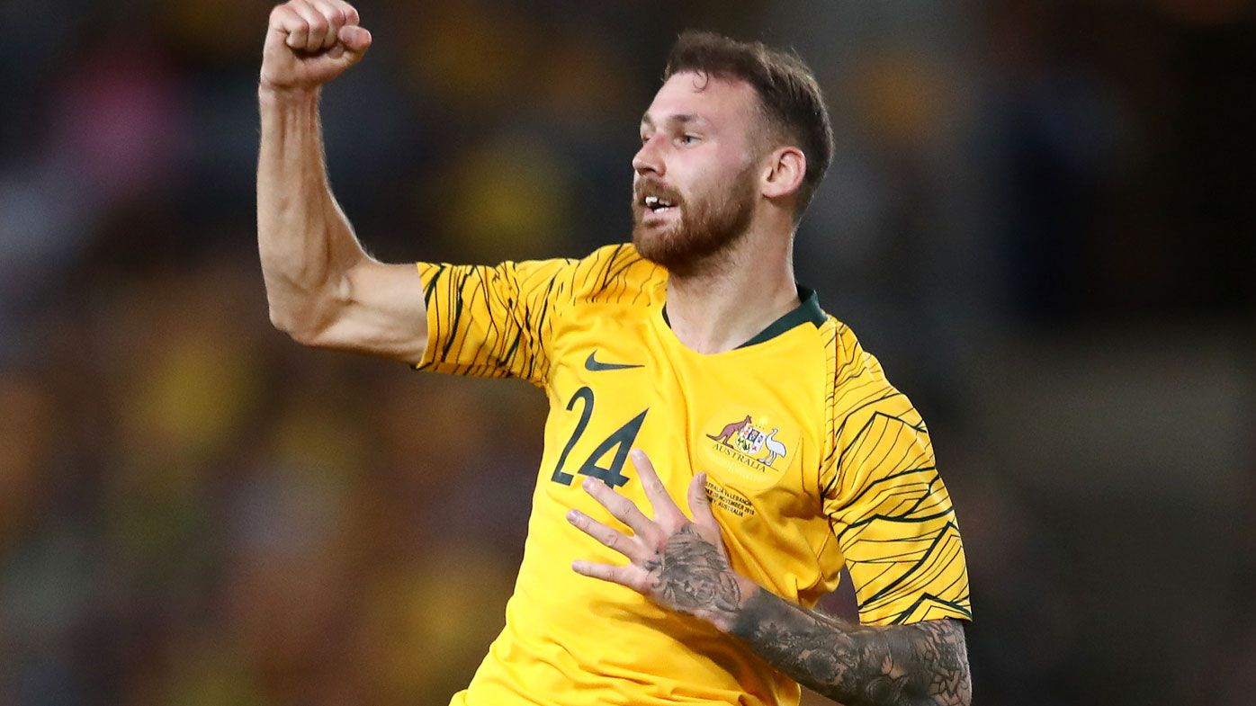 Hibs star Martin Boyle nets his first global  goals for Australia