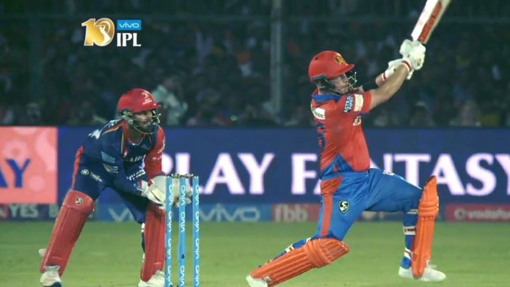 Australia's Aaron Finch muscles his way to rapid-fire 69 in Gujarat Lions loss in IPL