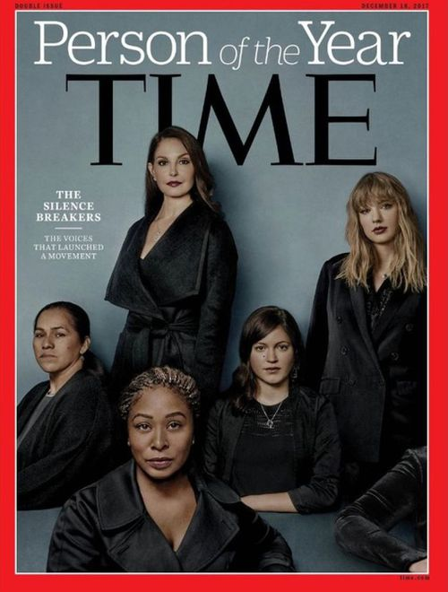 The silence breakers have been named Time magazine's Person of the Year. (Supplied)