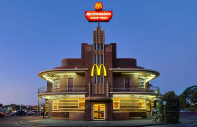 McDonald's Clifton Hill, Melbourne