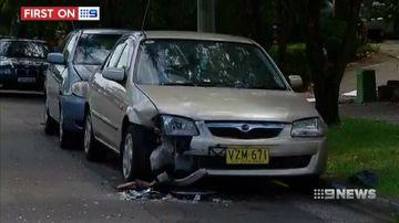 VIDEO: Alleged Sydney drunk driver leaves trail of damage