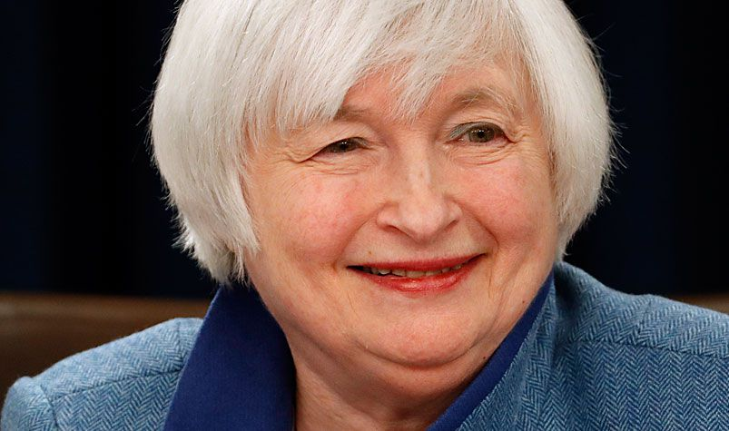 US Federal Reserve chief Janet Yellen. (AAP)