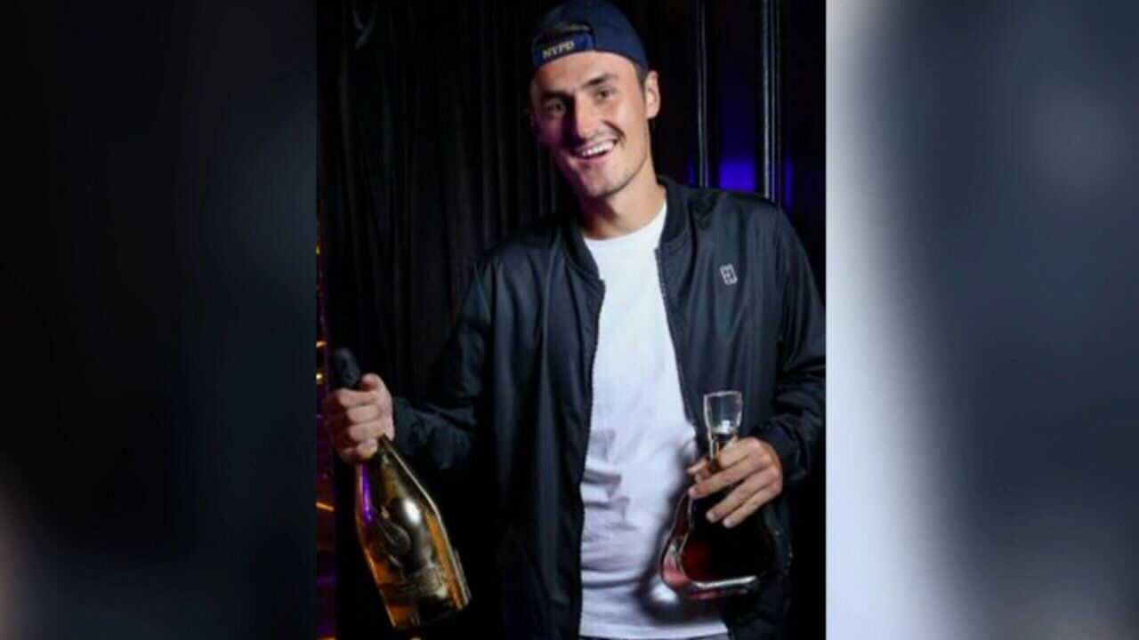 Bernard Tomic drops $50,000 in Melbourne nightclub