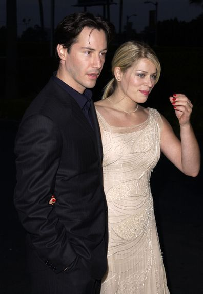 Keanu Reeves and Amanda De Cadenet