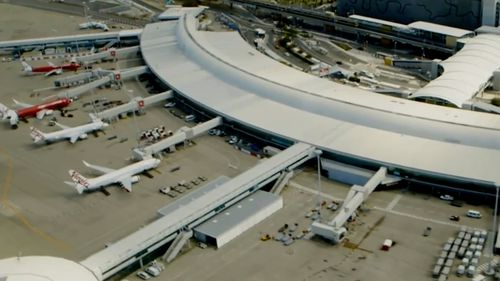 A breach at Brisbane International Airport has triggered a major health alert.