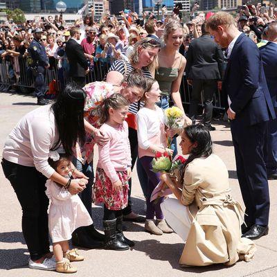 The Duchess of Sussex meets Australian fans, 16 October 2018