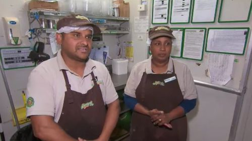 "The owners of the Hampton Park store said they ""live in fear"" following the robbery. (9News)"