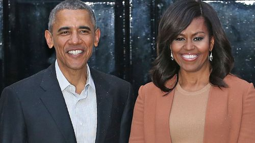 The Obamas are good friends of Prince Harry. (AAP)