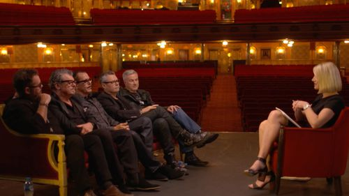 Tara Brown interviewed the surviving members of INXS. (60 Minutes)