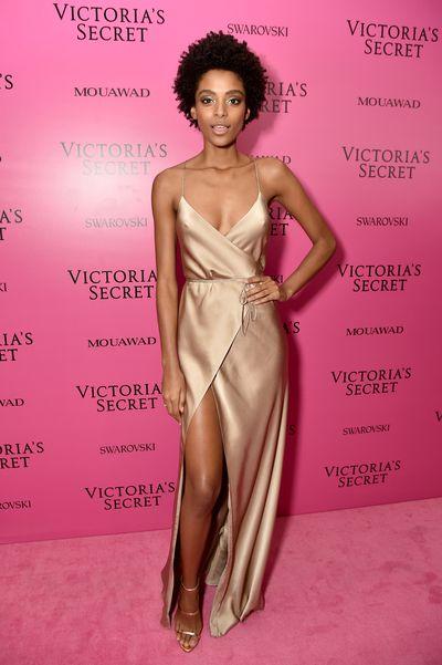 Alecia Moraisat the 2017 Victoria's Secret Fashion Show After Party