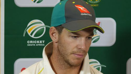 Tim Paine said Steve Smith and Cameron Bancroft 'weren't great' at seeing the reaction to the scandal. Picture: AAP