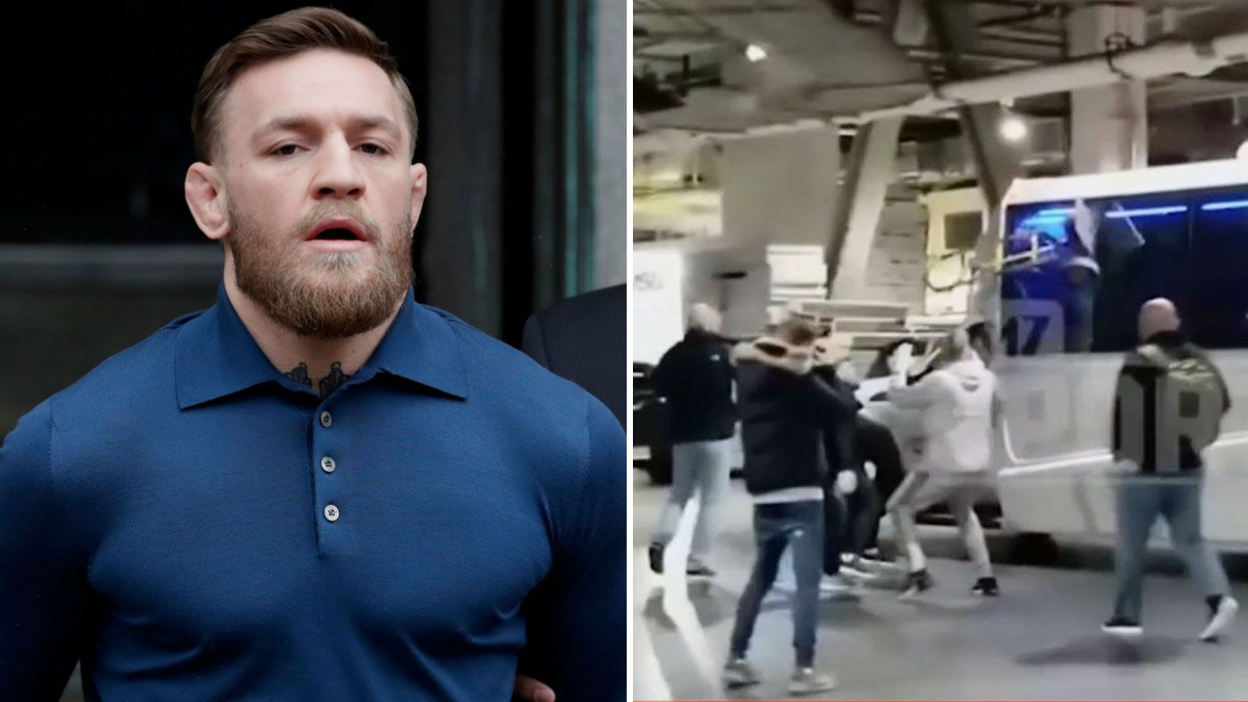 UFC: Conor McGregor sued by fighter Michael Chiesa over infamous bus attack