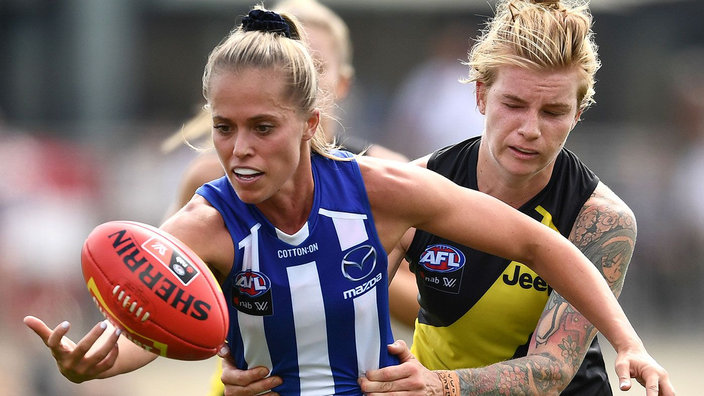 North Melbourne's Kaitlyn Ashmore opens up on game's criticism, social media