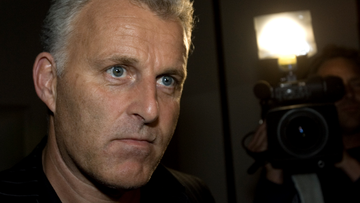 Dutch media say celebrated crime reporter Peter R. de Vries, who was shot after a TV appearance, has died, it was reported on Thursday, July 15, 2021. (AP Photo/Peter Dejong, File)