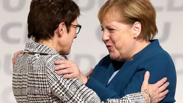 Angela Merkel ally elected new leader of German Chancellor's party
