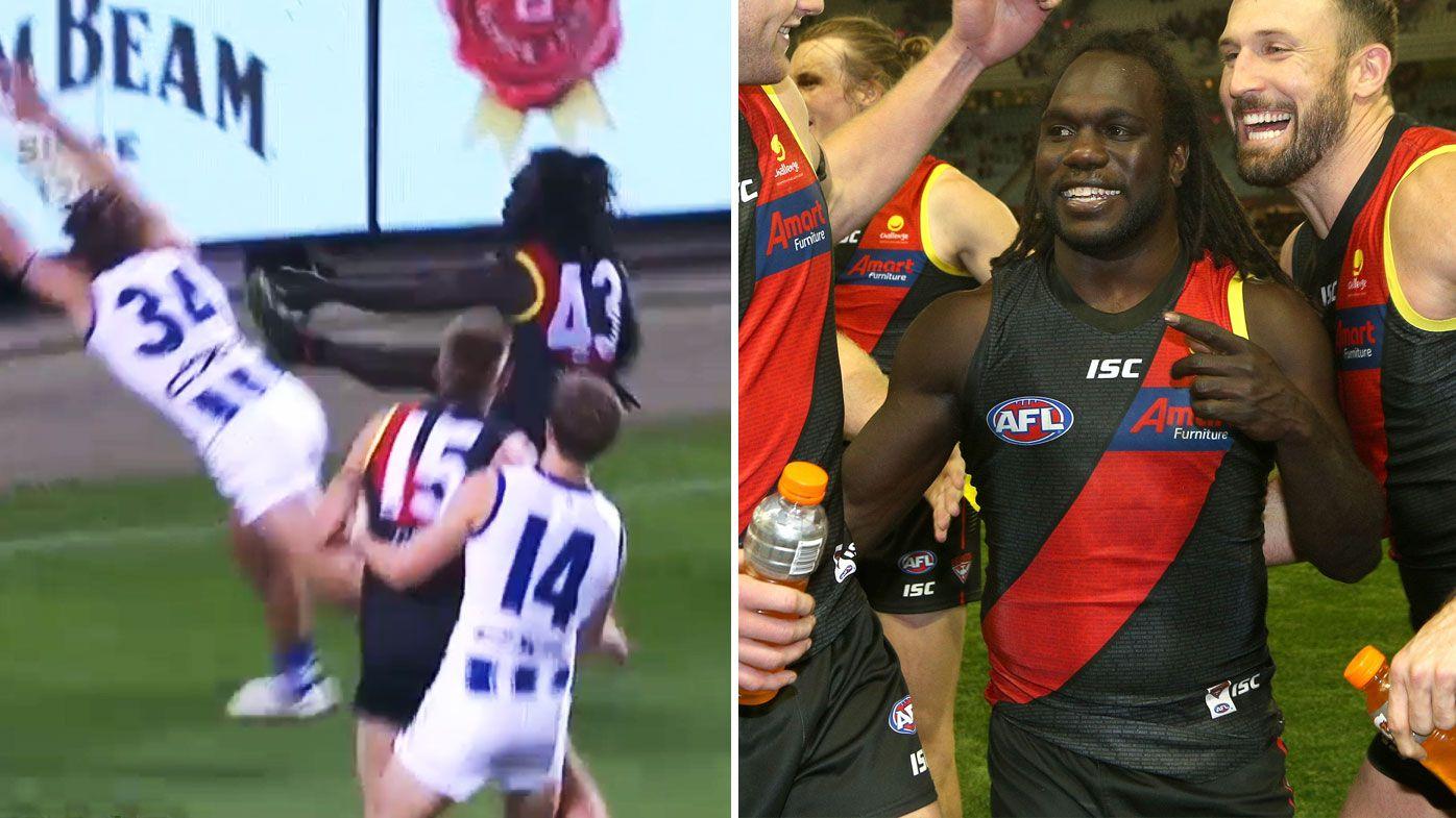AFL: Walla heroics fires Bombers into top-eight as North falls short