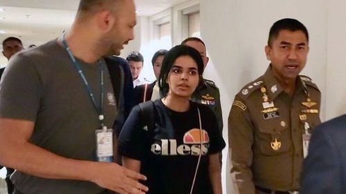 Saudi teen Rahaf Alqunun was granted asylum in Australia, according to a Thai official.