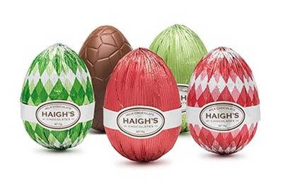 Haigh's Milk Chocolate Egg: 50 minutes of steady running