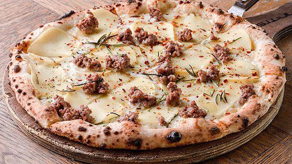Criniti's zappatore pizza