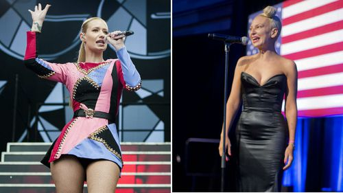 Iggy Azalea and Sia both nominated for Grammy awards