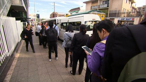 Regular commuters tweeted that this was just another day of dramas for Sydney Trains. (9NEWS)