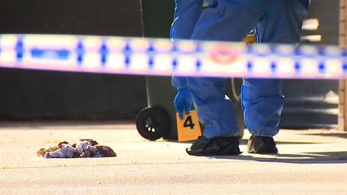 Man allegedly bashed with brick outside Brisbane apartment