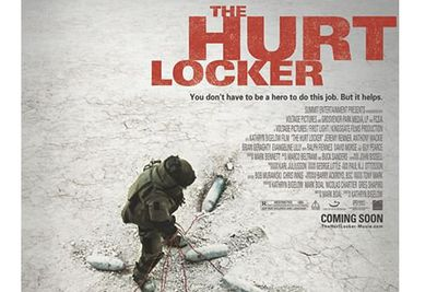 """<b>Why you should see it?</b>""""<i>The Hurt Locker</i> is not so much about Iraq as it is about war and addiction to danger. It's a super-sharp, nerve-shredding thriller that reveals more about the realities of contemporary military conflict than most documentaries, is as fissile and explosive as a Transformers movie, and delivers a powerful and often haunting critique of American society both at home and as its faultlines are expressed abroad."""" - Telegraph.co.uk"""