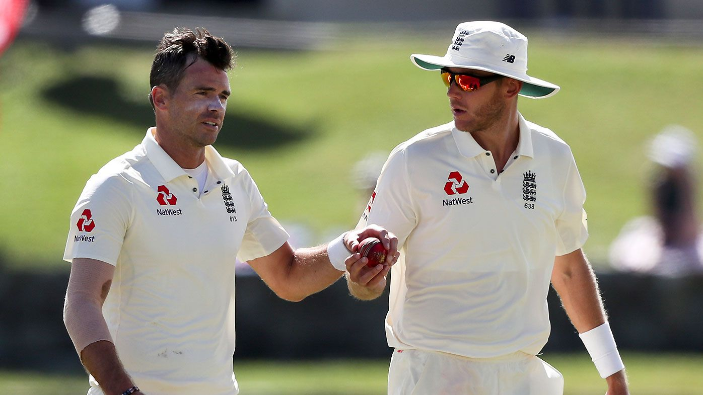 England's James Anderson in race to be fit for Ashes after suffering calf injury