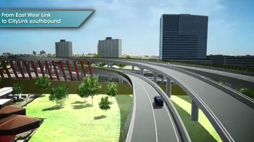 An artist's impression of the new link. (9NEWS)