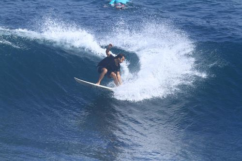 Haydon was on a surfing trip with friends in Bali. (Facebook)