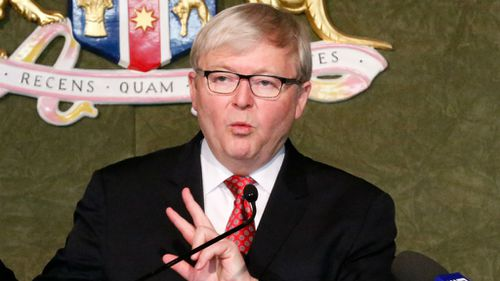 Kevin Rudd reportedly campaigning for UN top job in 2016