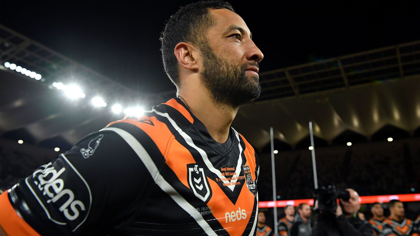 NRL: Benji Marshall focused on finals footy as Parramatta spoil 300th party
