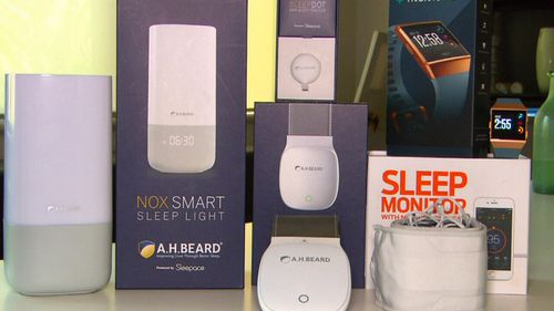 Sleep devices can help monitor your sleep patterns.