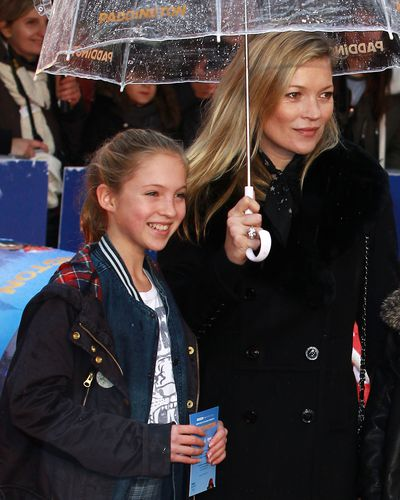 <p>Supermodel Kate Moss's lookalike daughter Lila Grace, is 14 years old now. Lila shares her time between Dad, Jefferson Hack and Kate, who split up back in 2004.</p>