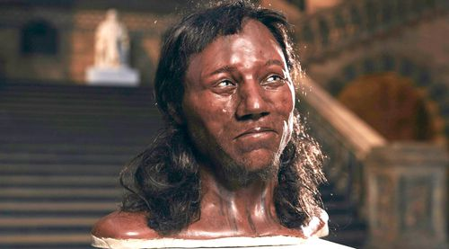 World-leading research, cutting-edge DNA and facial reconstruction reveals for the first time the face of the 10,000 year old man. (AAP)