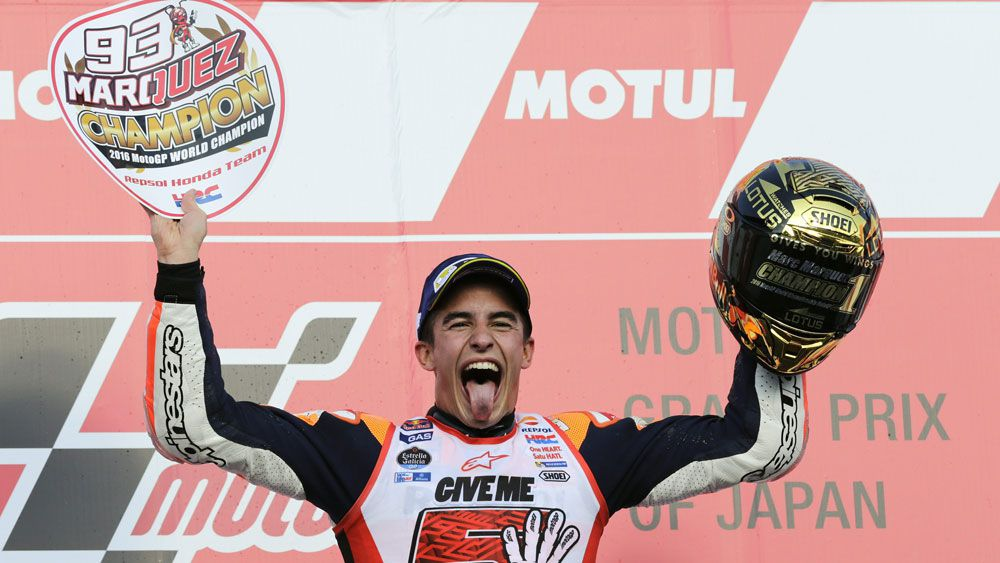 Marquez clinches MotoGP world title