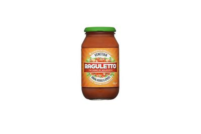 Raguletto Venetian style pasta sauce (and also the Bolognese variety)