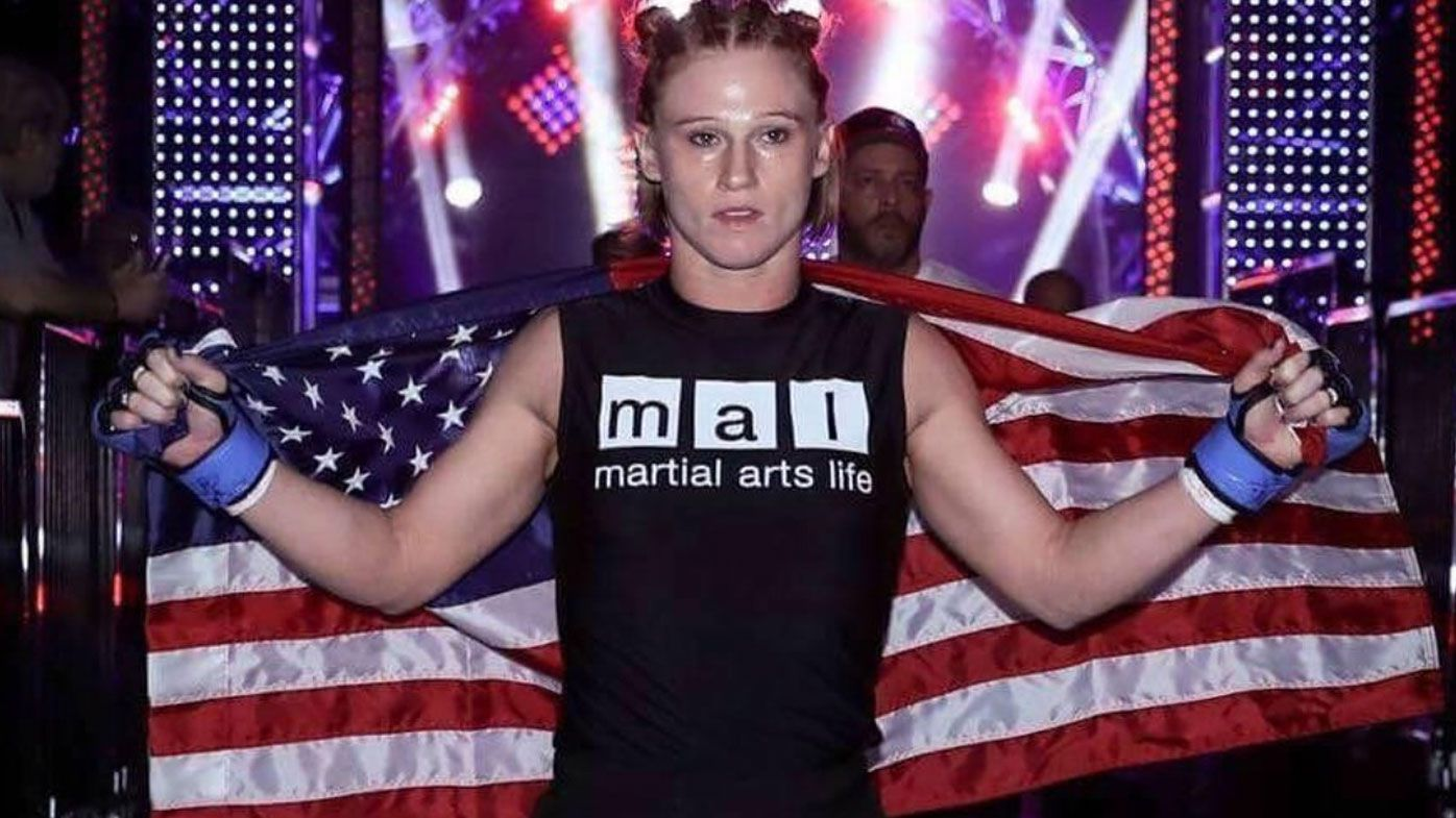 Former Bellator MMA fighter Katy Collins dies at the age of 32